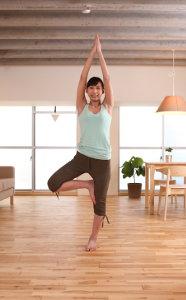 姿勢を正して健康的な生活を